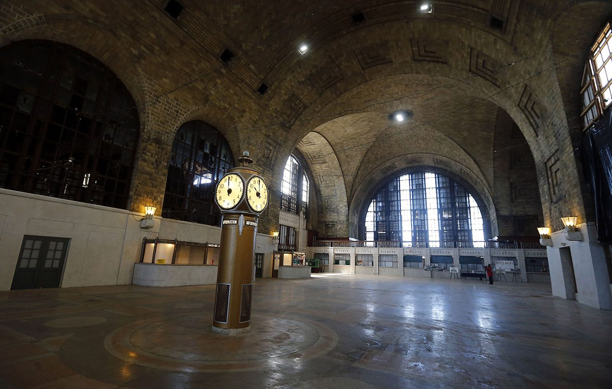 The Central Terminal turns 90 this year. The East Side is celebrating with a festival. (Mark Mulville/Buffalo News)