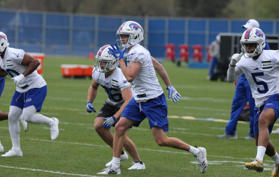 David Sills is hoping to catch on with the Bills as an undrafted free agent. (John Hickey/Buffalo News)