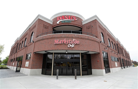 The much anticipated Dash's Market on Hertel Avenue in Buffalo is in high gear on Monday, May 20, 2019, stocking shelves and preparing for its opening on Wednesday.