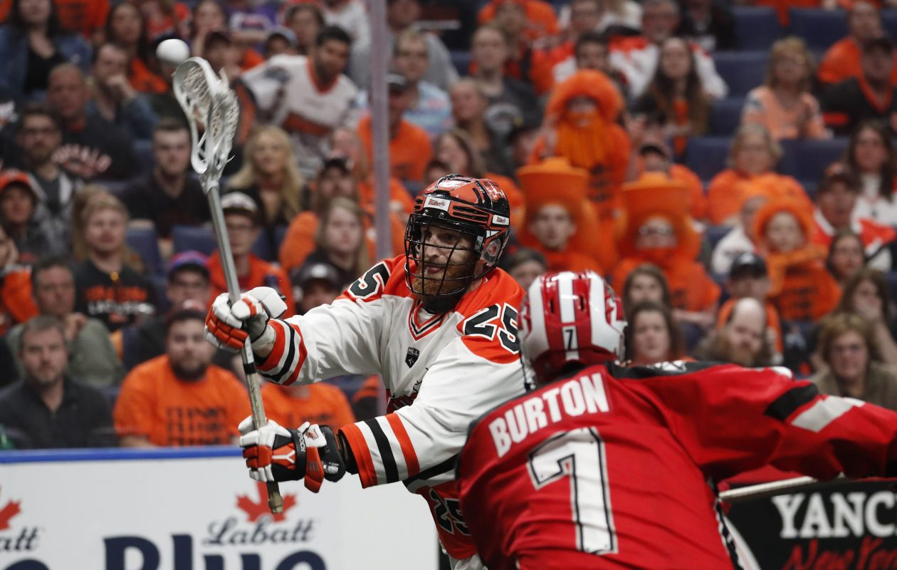 Bandits lose to Calgary in first game of NLL Finals