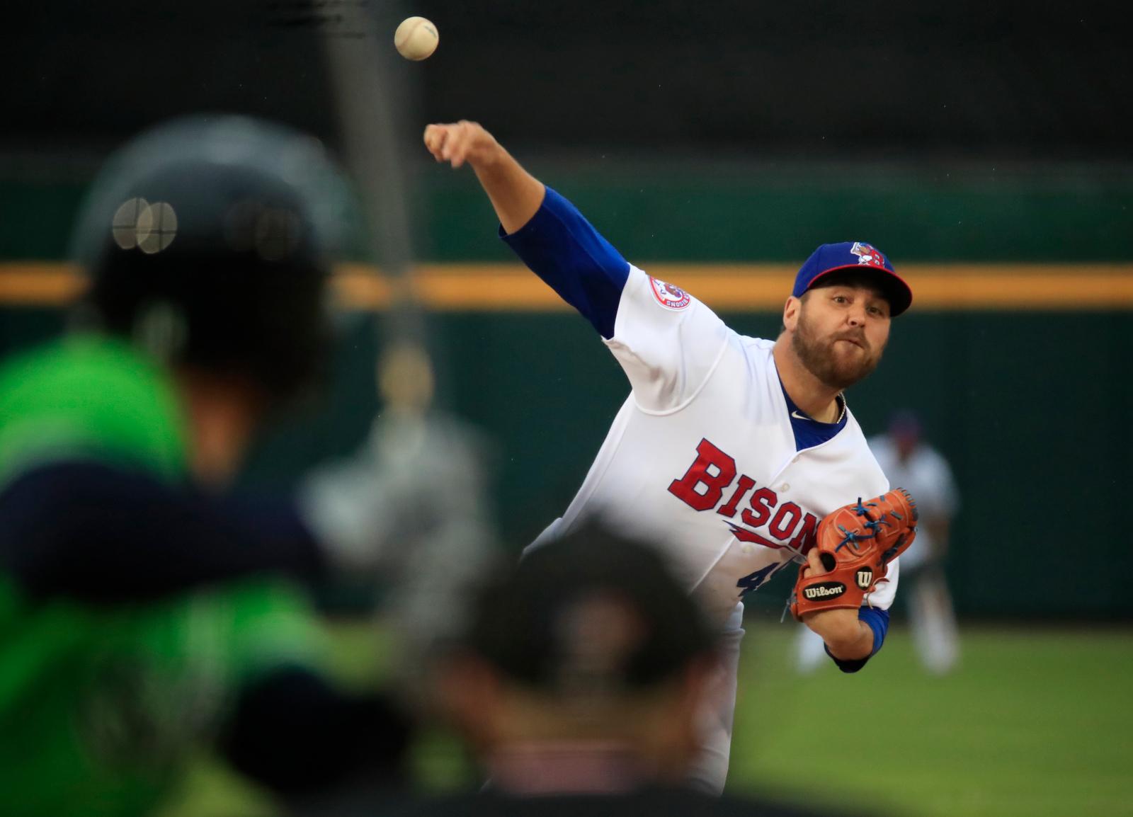 Morimando-Bisons-Stripers-Scull-Minor League Baseball-Sahlen Field-Scull