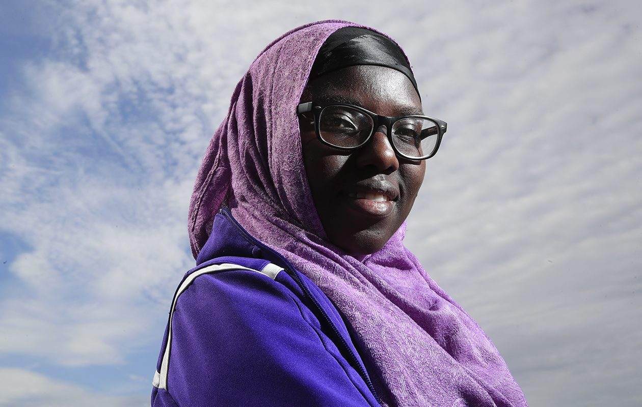 From Kenyan refugee camp to UB commencement, one graduate's story