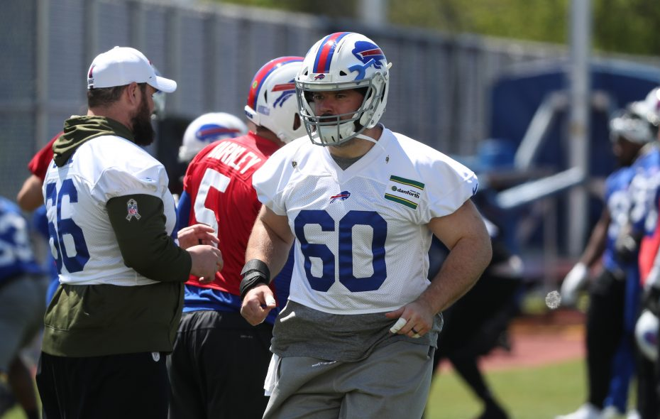 Bills center Mitch Morse. (James P. McCoy/News file photo)