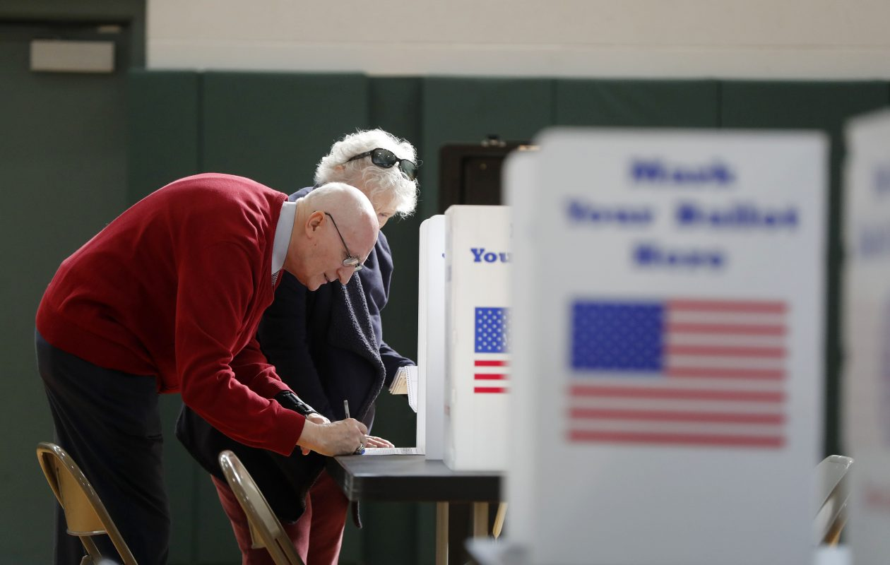 'No one's angry; no one's excited': Voter turnout down in most districts