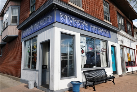Bimber's Delwood is a little corner bar at 3115 Delaware Ave. in Kenmore.