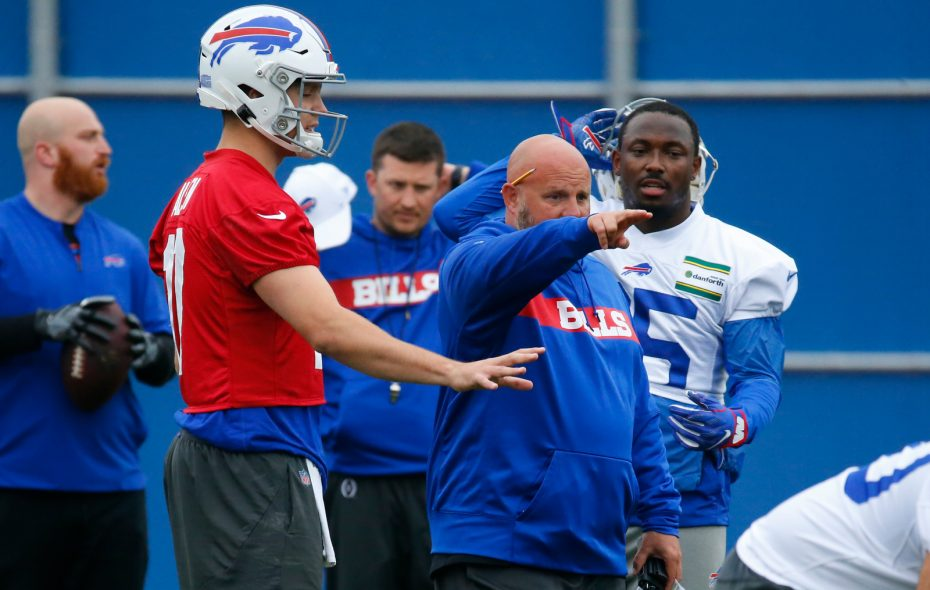 buy online 23304 4883d Footwork and new philosophy could push Josh Allen in Year 2 ...