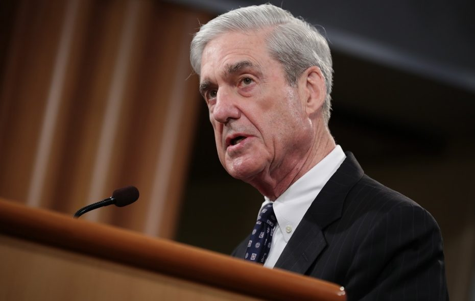 Special Counsel Robert Mueller makes a statement about the Russia investigation on May 29, 2019 at the Justice Department in Washington, DC. (Getty Images)