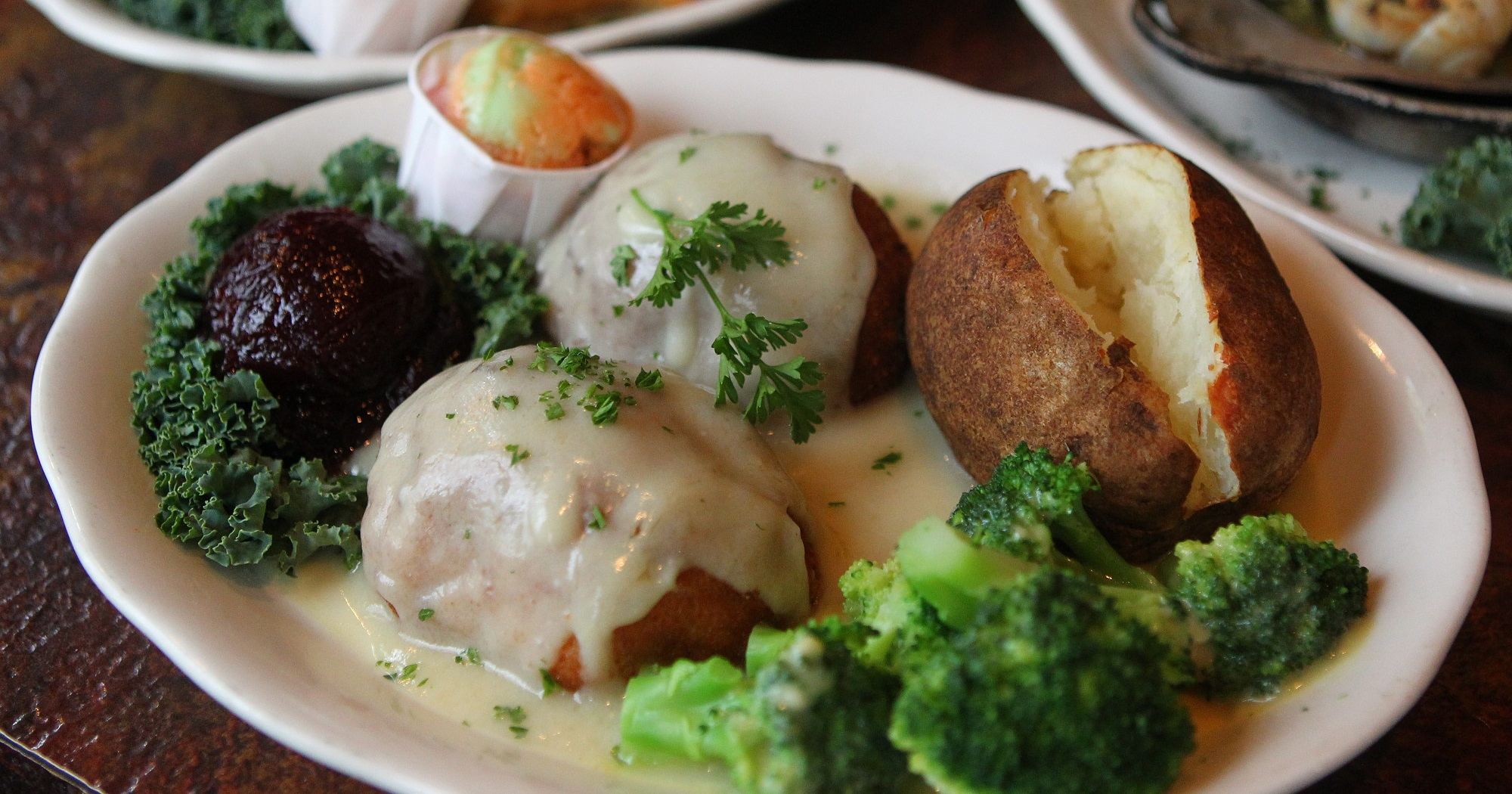 The timeless Turkey Jerome has been a go-to dish at the Mansard Inn for years. On Tuesday, new owners will take over the restaurant that's been in Orchard Park nearly 50 years. (Mark Mulville/News file photo)