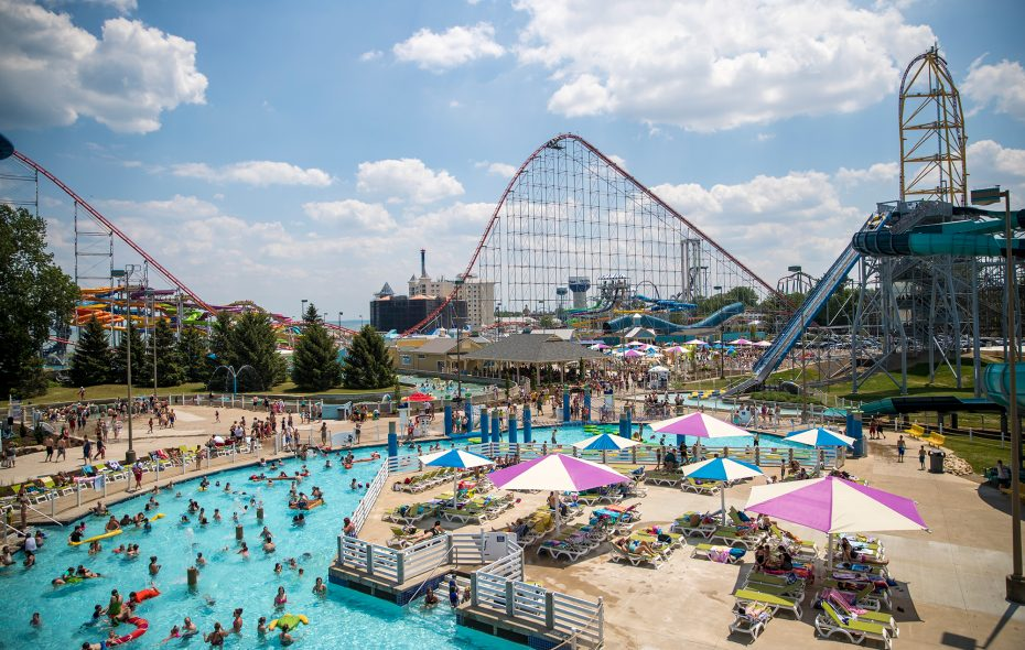 Ceder Point amusement park has been drawing visitors to Sandusky since it opened in 1870. (Ceder Point)