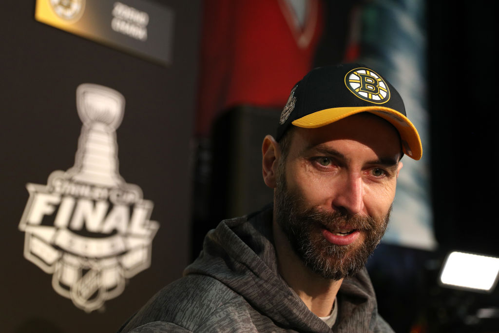 Bruins captain Zdeno Chara hopes to hoist the Stanley Cup again like he did in 2011. (Getty Images)