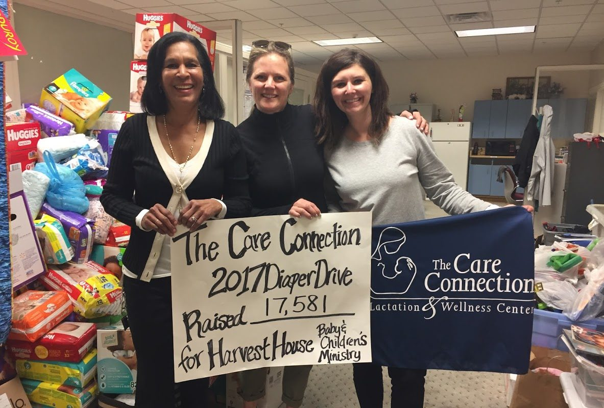 The Care Connection will accept donations of disposable diapers from 10 a.m. to 3 p.m. Saturday at 3991 Harlem Road, Amherst. (Photo courtesy of the Care Connection)
