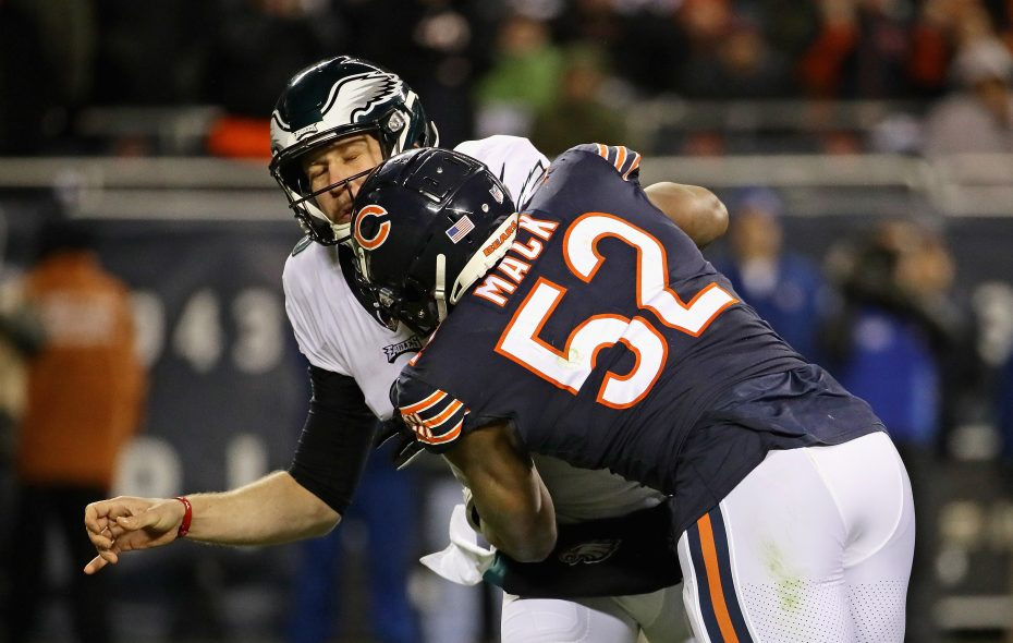 huge discount 2b7d6 756e3 Ex-UB star Khalil Mack wants to be the best ever in Year 2 ...