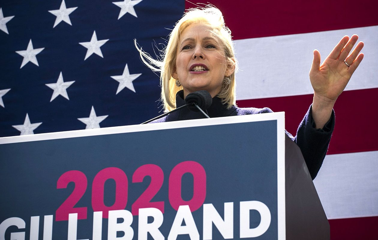 'It's all about name recognition,' said Linda L. Fowler, a professor of government at Dartmouth College in New Hampshire, of the early stretch of a presidential campaign. 'And people don't know who (Gillibrand) is.' (Kena Betancur/Getty Images file photo)