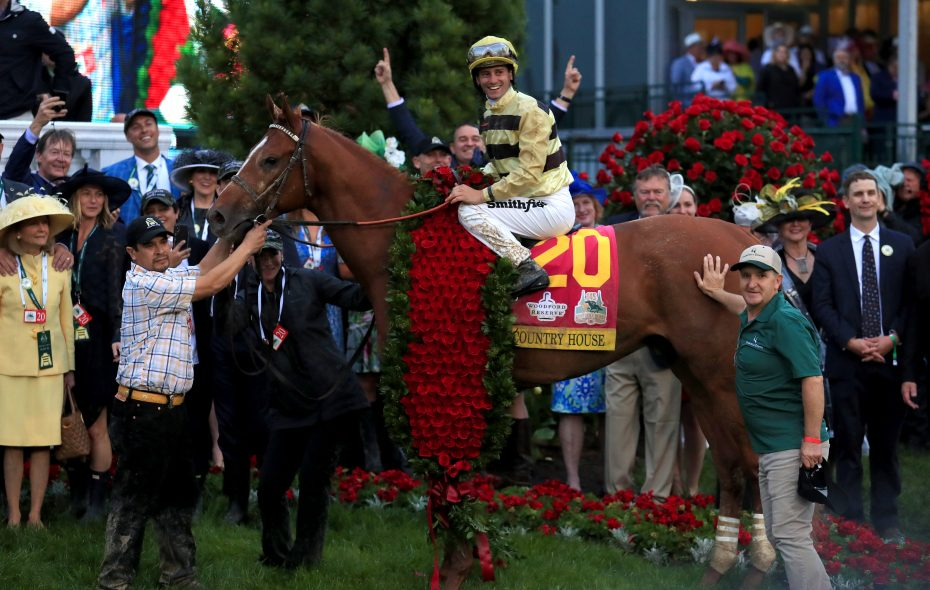 Post Time: Wet and wild Kentucky Derby ends in