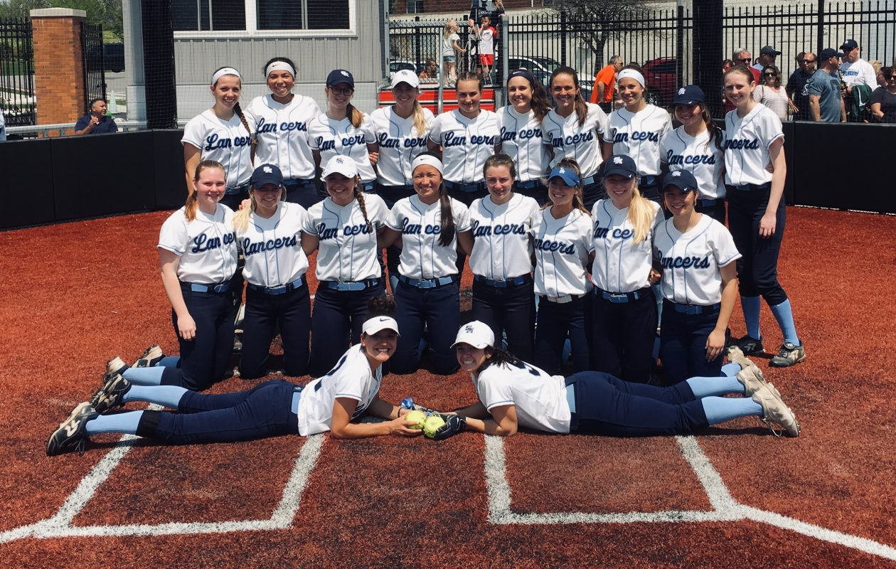 St. Mary's softball, ranked No. 1 in the state, rallies back to Msgr. Martin title game