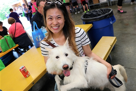 Buffalo's summer schedule is littered with dog-friendly events, and Saturday's Bark in the Park welcomed vendors, leashed dogs, rescue dog organizations and much more on Saturday, May 25, 2019 in Clarence Town Park.