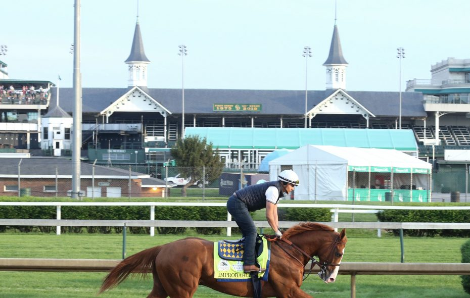 Improbable is one of three Baffert horses in the mix at the Kentucky Derby. Photo Credit: Coady Photo/Churchill Downs