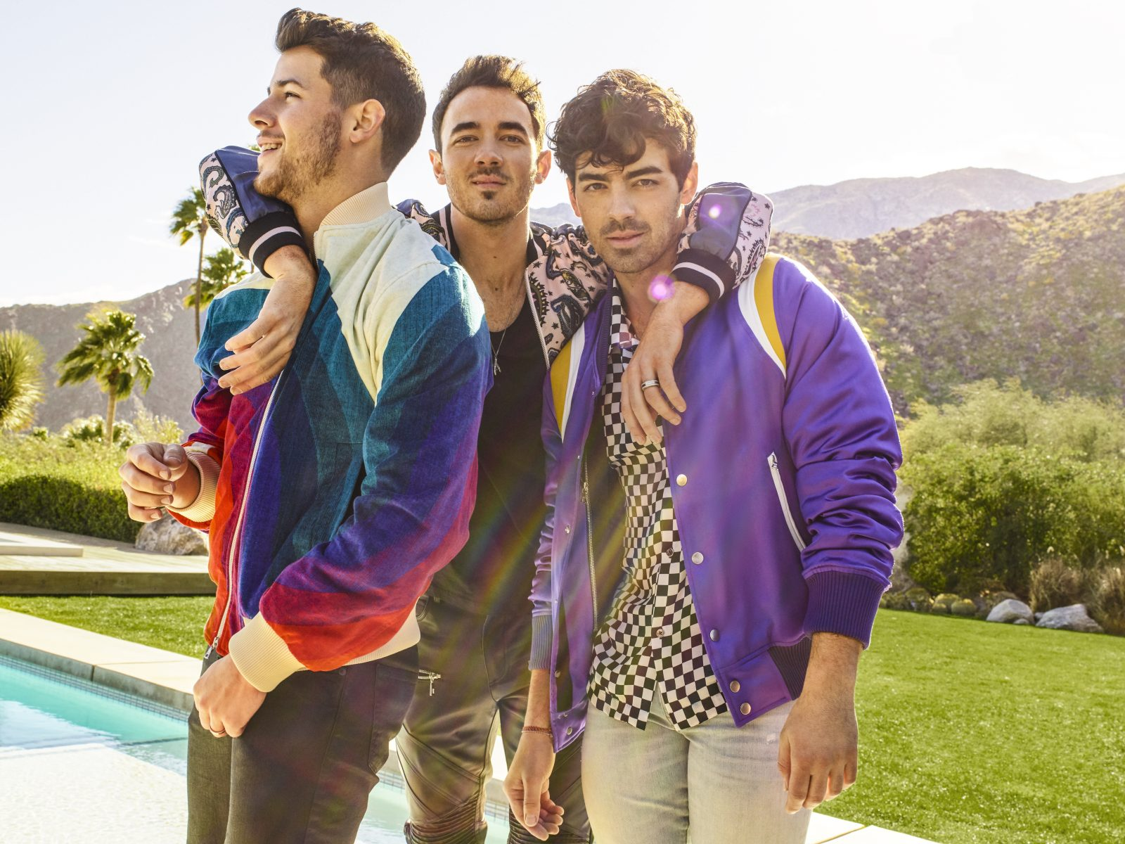 The Jonas Brothers are back together and headed out on the road with a stop planned for Buffalo. (Photo by Peggy Sirota)