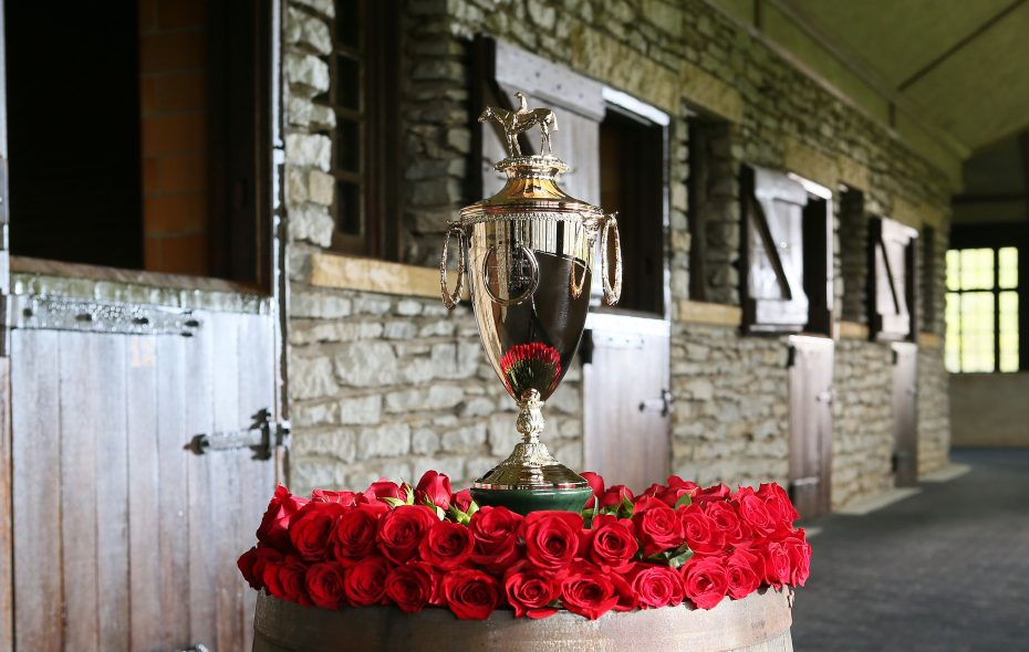 The Kentucky Derby trophy. Photo Credit: Coady Photo/Churchill Downs