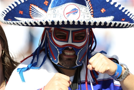 Ezra Castro, known to thousands of football fans as Pancho Billa, embraced the Bills as his favorite team when he was a child in El Paso, Texas. Despite living in Cowboys country, that allegiance only intensified. As an adult, his passion turned him into a stadium icon and one of the most iconic members of the Bills Mafia. -- Sean Kirst