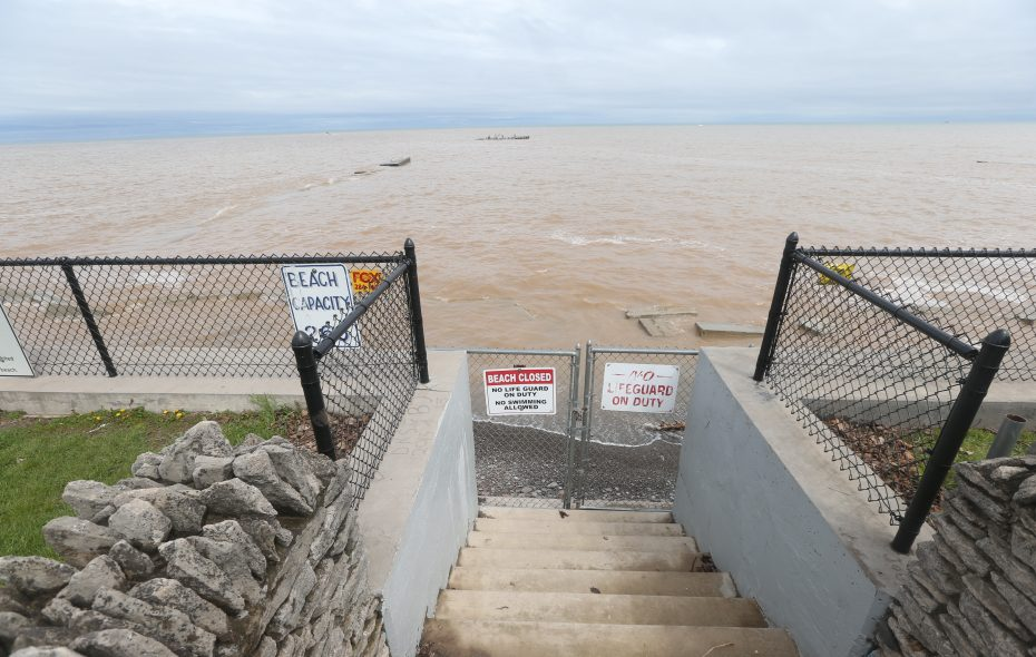 Lake Ontario water level down almost a foot from two months ago