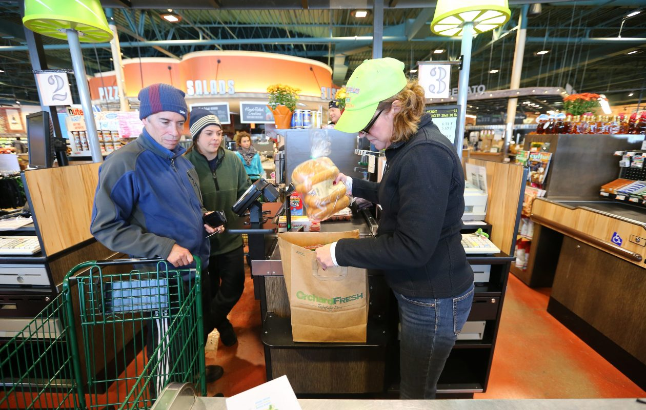Orchard Fresh in Orchard Park has evolved into a concept store, where Tops tries out new ideas. (Mark Mulville/News file photo)