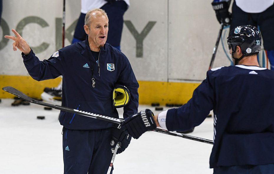 From a sluggish start, Ralph Krueger led Team Europe to the championship round of of the 2016 World Cup of Hockey. (Getty Images)