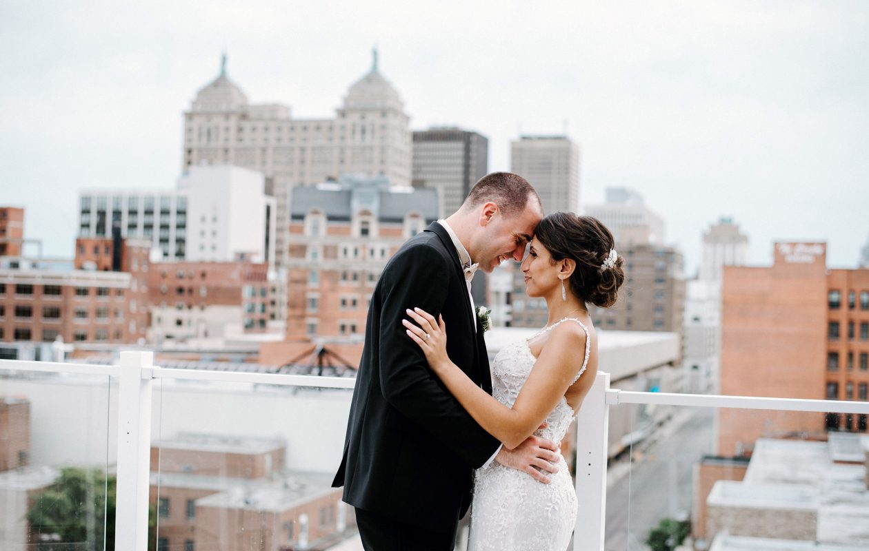 With three months left until their wedding and only the venue booked, the busy couple, who had just started their residencies, turned to Events by Lauren Marie for help pulling off their big day. (LMF Photo)
