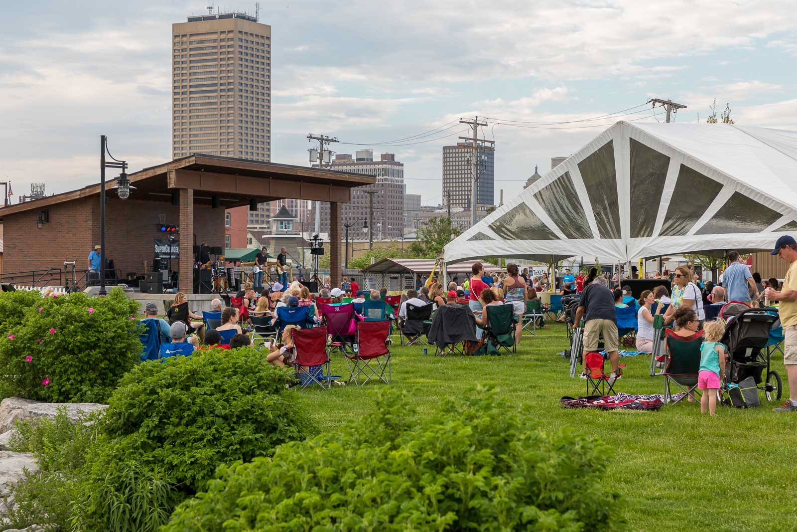 Bring the entire family to the free summer concert series  at Buffalo River Fest Park. (Don Nieman/Special to The News)