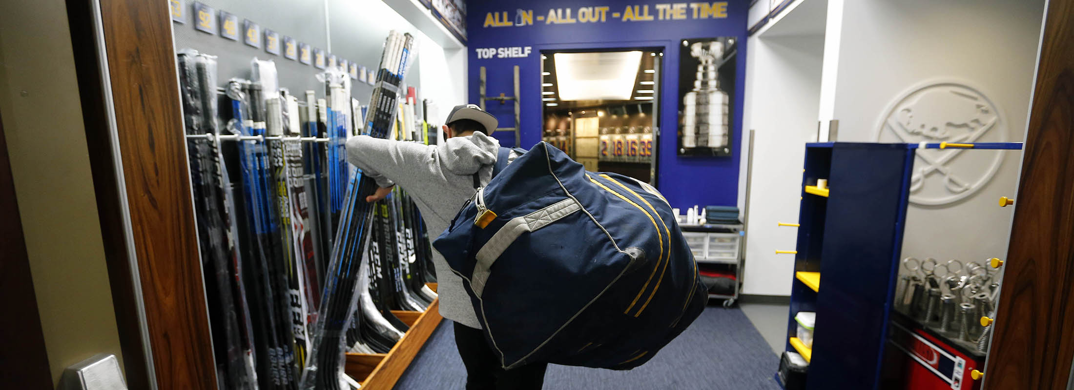 The Sabres' winning the fewest games in the NHL since the start of the 2012-13 season is not the fault of one coach, general manager, player or ownership group. (Mark Mulville/News file photo)