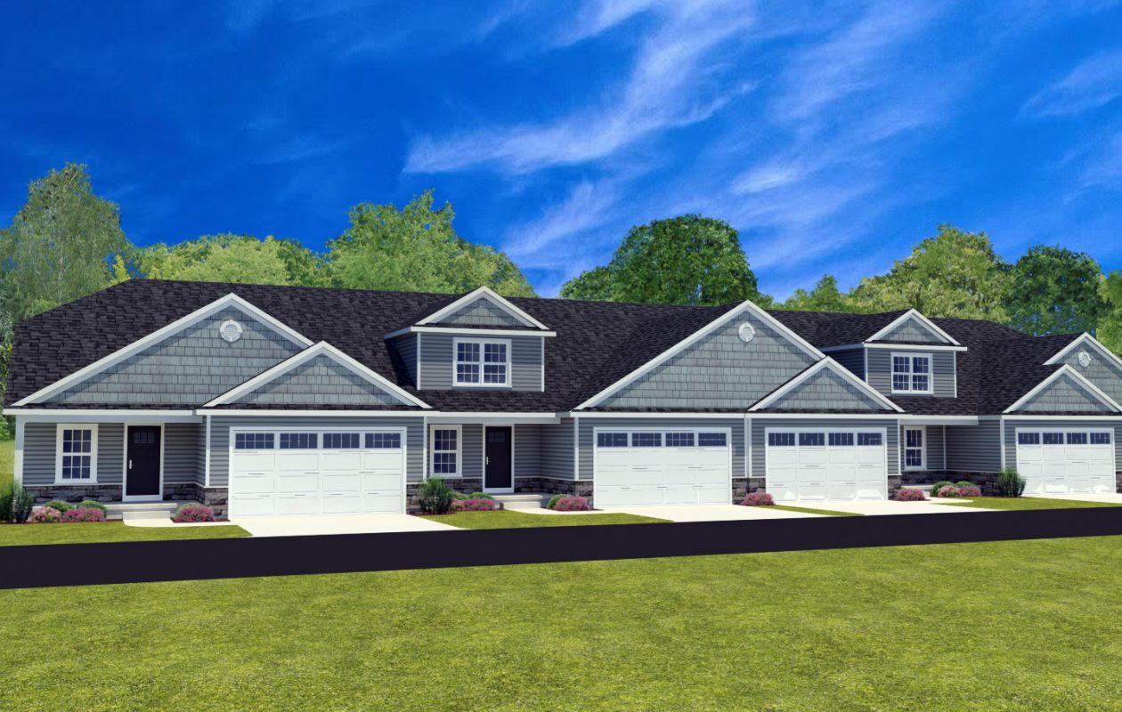 A rendering of the Villas at Essex Woods in Amherst, by Essex Homes of WNY. (Image courtesy of Essex Homes)