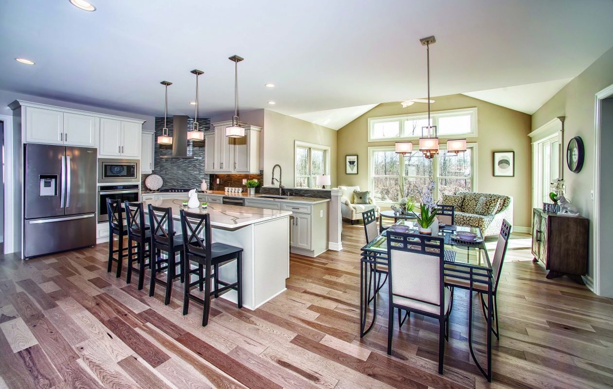 Essex Homes new model is located in Clarence's Spaulding Green.