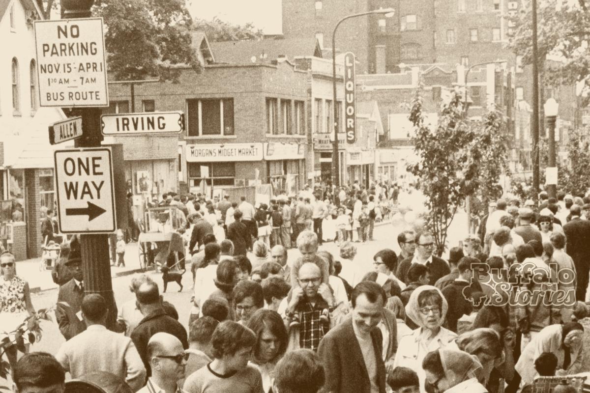 Buffalo 50 Years Ago: Allentown Art Festival, 1969