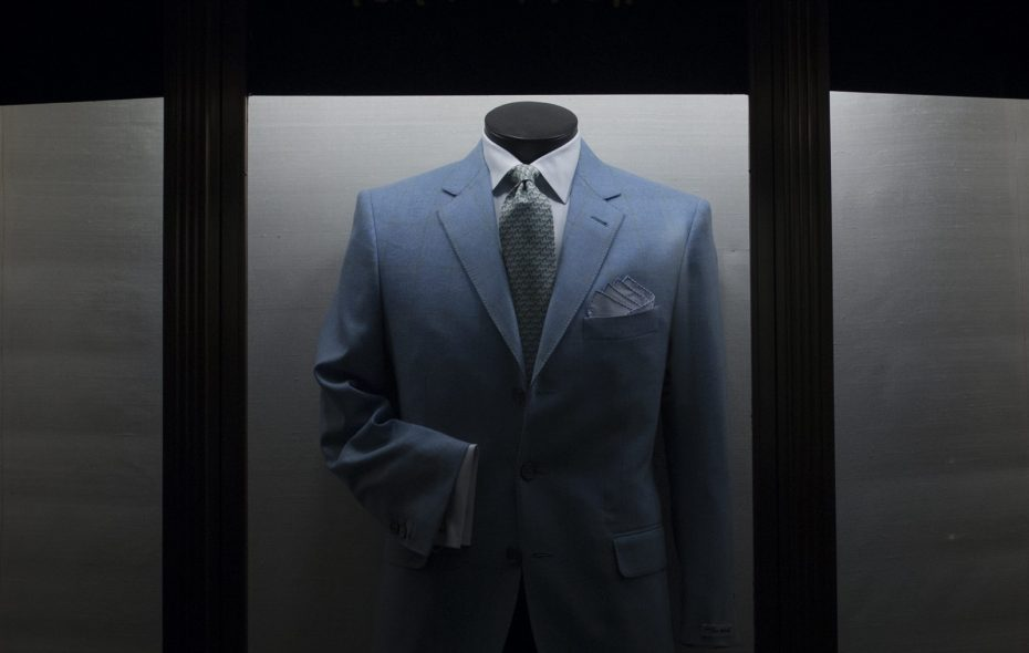 Tom Barnett is in the business of investment clothing. (John Taggart/Special to the News)