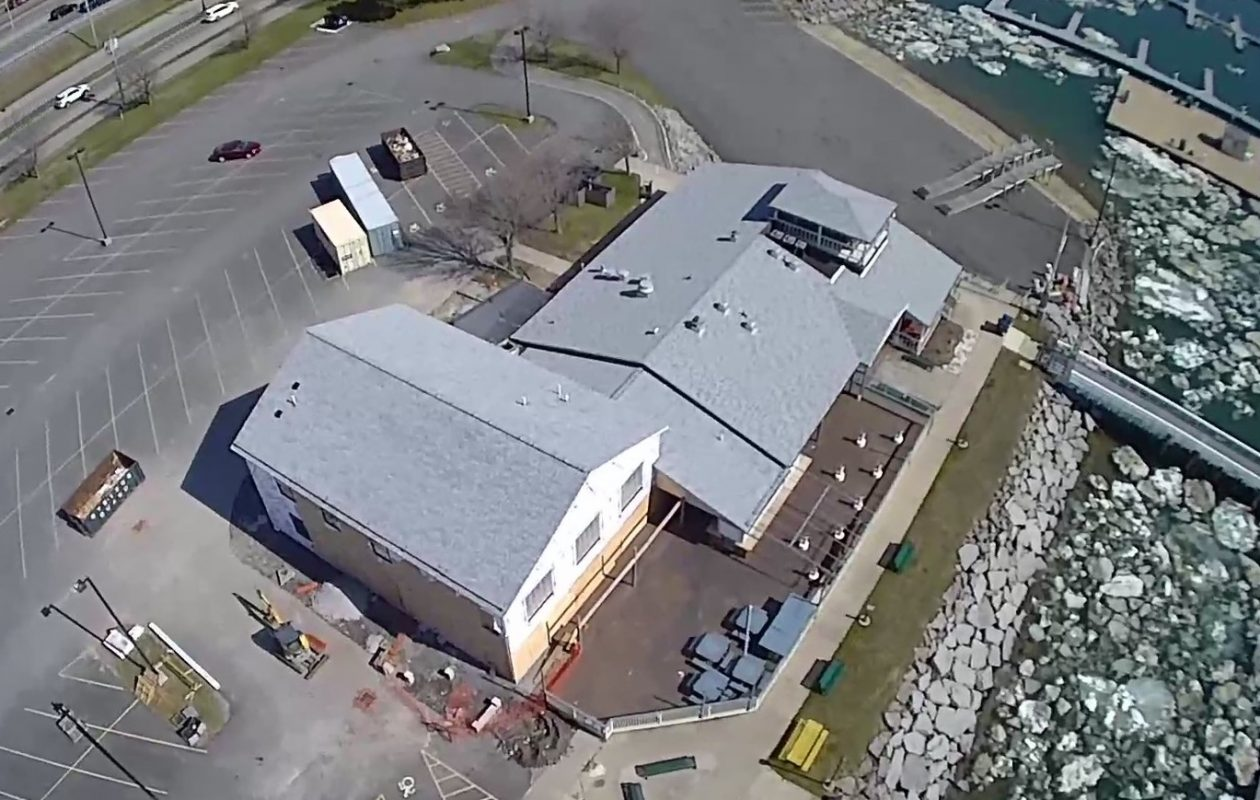 A two-story expansion will accommodate almost twice the customers at Charlie's Boat Yard. (Photo courtesy of Charlie's Boat Yard)