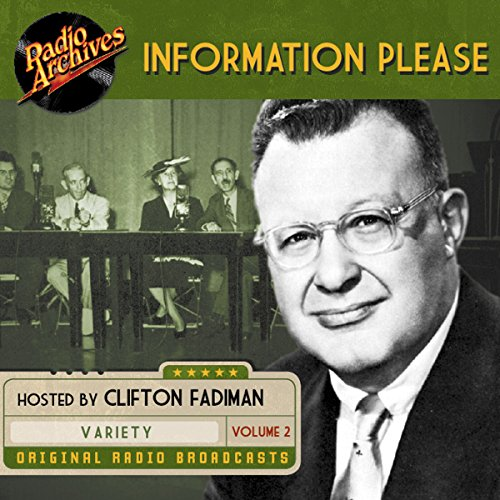 Cover of Audiobook for radio show hosted by Clifton Fadiman and written by Dan Golenpaul.