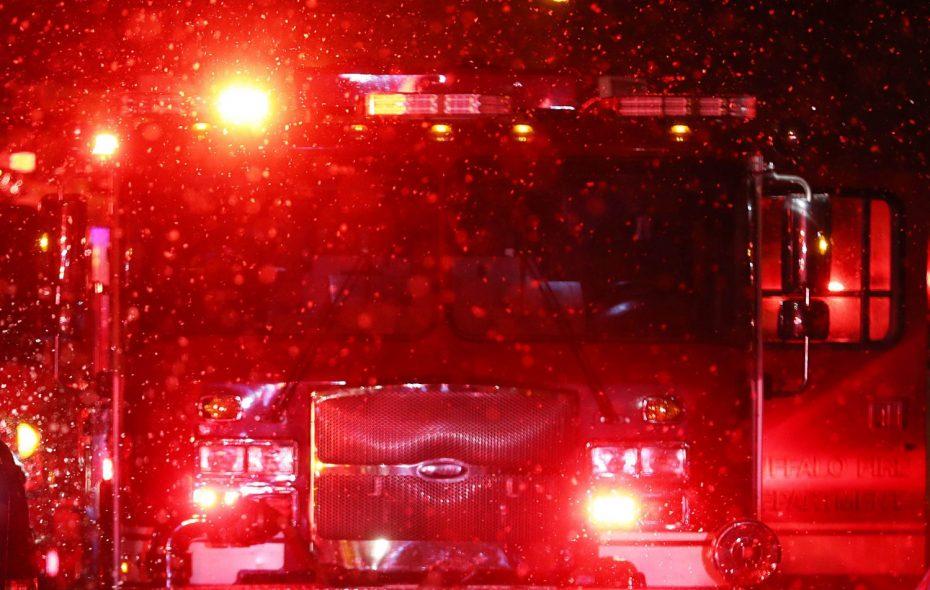 Transit Road restaurant, horse barn fires burn overnight
