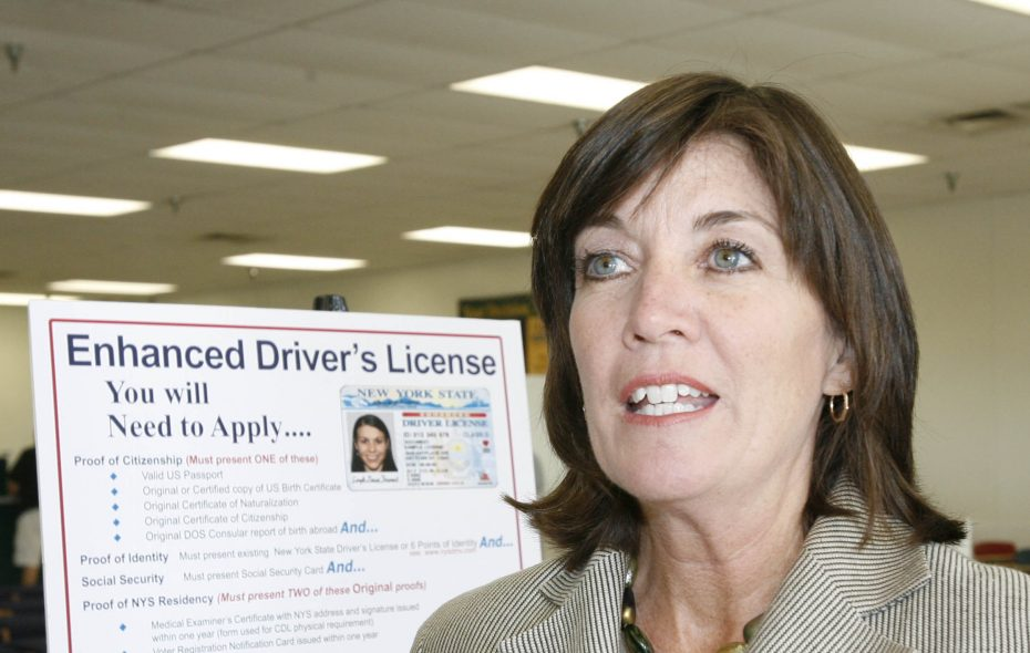 """When she was Erie County clerk, Kathy Hochul opposed granting driver's licenses to undocumented immigrants. Now, as lieutenant governor, backers say her position has """"evolved"""" and she supports the idea in concept as proponents make a renewed push on the issue. (Sharon Cantillon/News file photo)"""