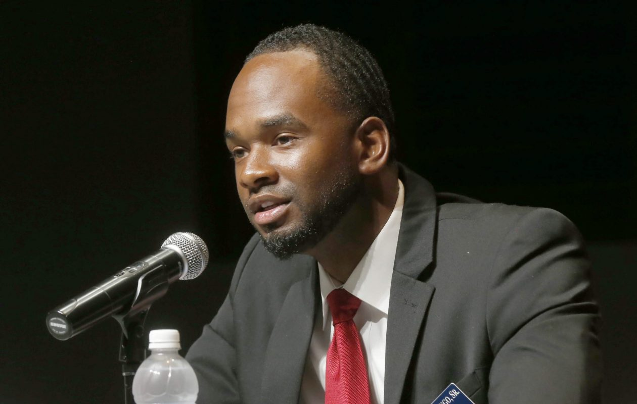 Masten Council Member Ulysees O. Wingo had no immediate comment after learning he will not be charged for taking a gun into a school. (Robert Kirkham/News file photo)