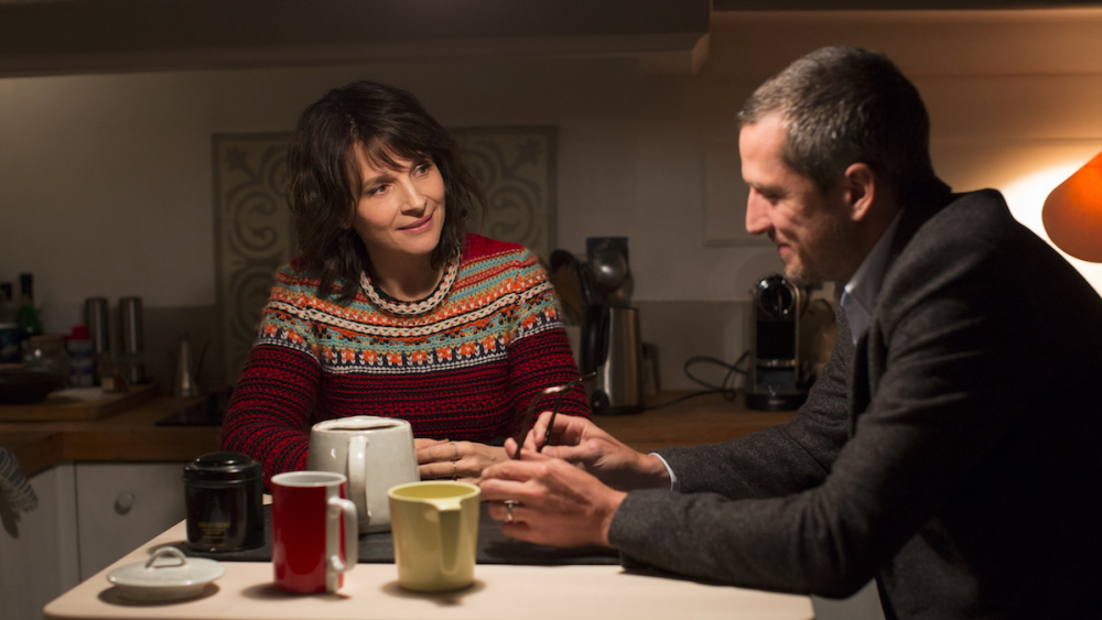 Juliette Binoche and Guillaume Canet star in 'Non-Fiction,' the latest film from director Olivier Assayas. (Photo courtesy of IFC Sundance Selects)