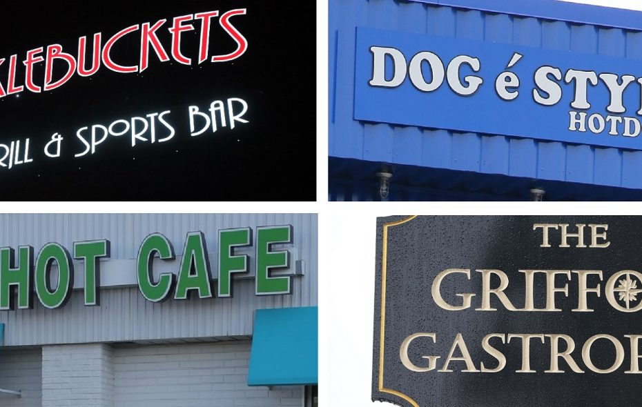 Signs of distinction: What's in a restaurant name in Western