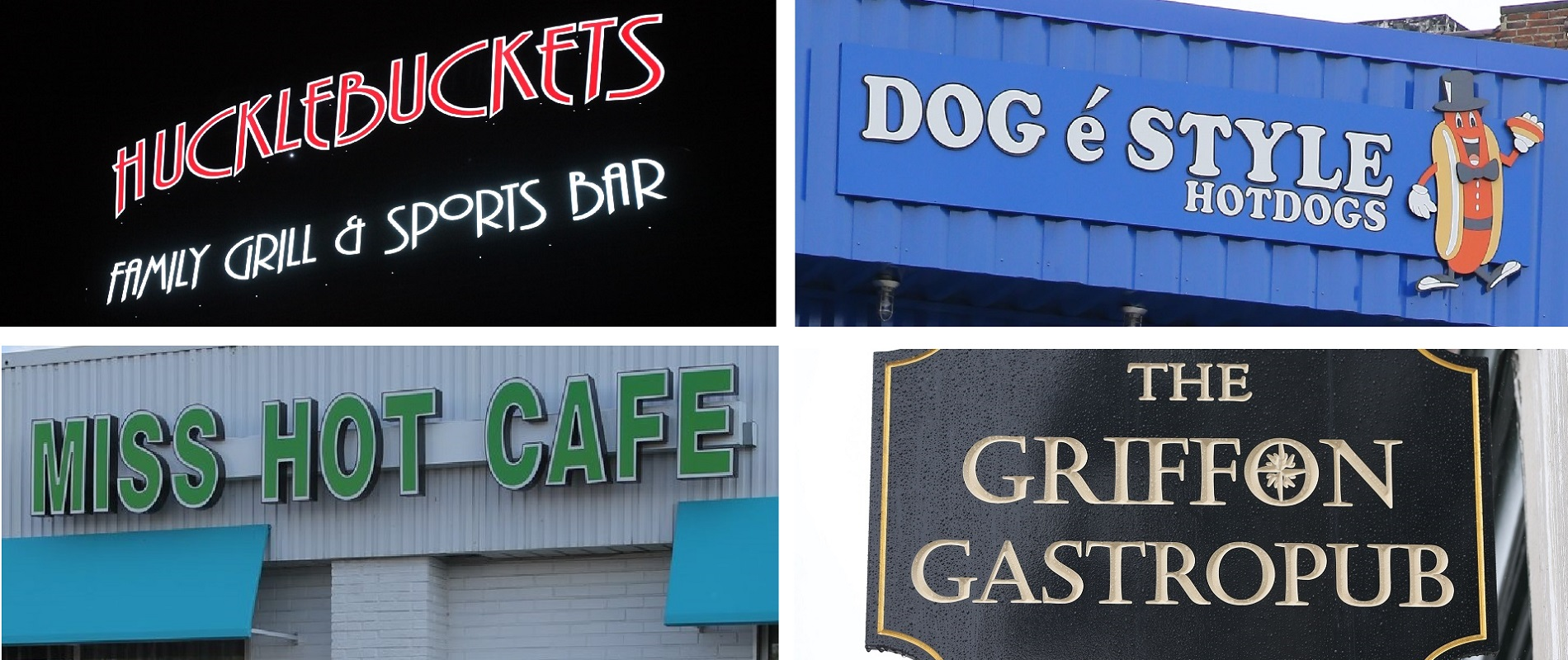 "Andrew Galarneau writes, ""Sometimes the first thing a restaurant maker knows about the enterprise they will pour their life into is the name on the sign."" (News file photos)"