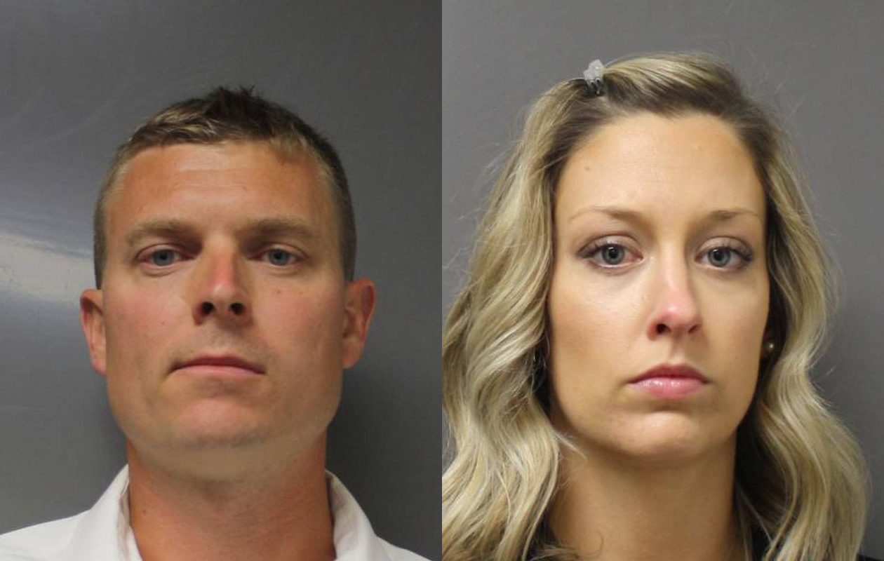 Howard and Aimee Scholl. (Photos courtesy of the Erie County District Attorney's Office)