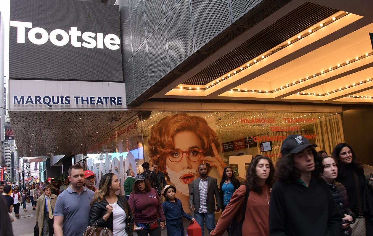 'Tootsie,' which opened on Broadway in the Marquis Theatre on April 23, 2019, is coming to Shea's Buffalo Theatre. (Getty Images)
