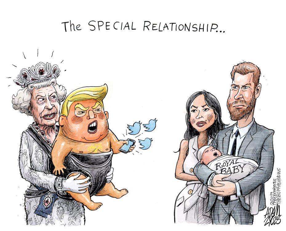 Trump UK visit: June 5, 2019