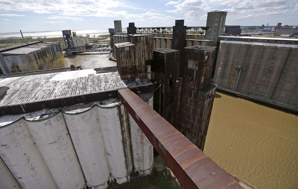 Silo City near Childs Street.  (Robert Kirkham/News file photo)