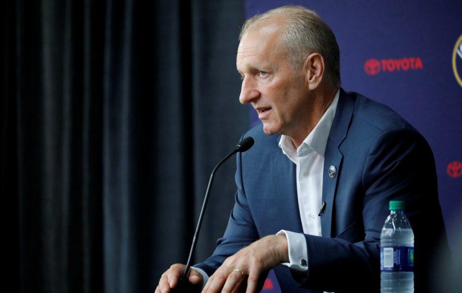 New Sabres coach Ralph Krueger. (Derek Gee/Buffalo News)