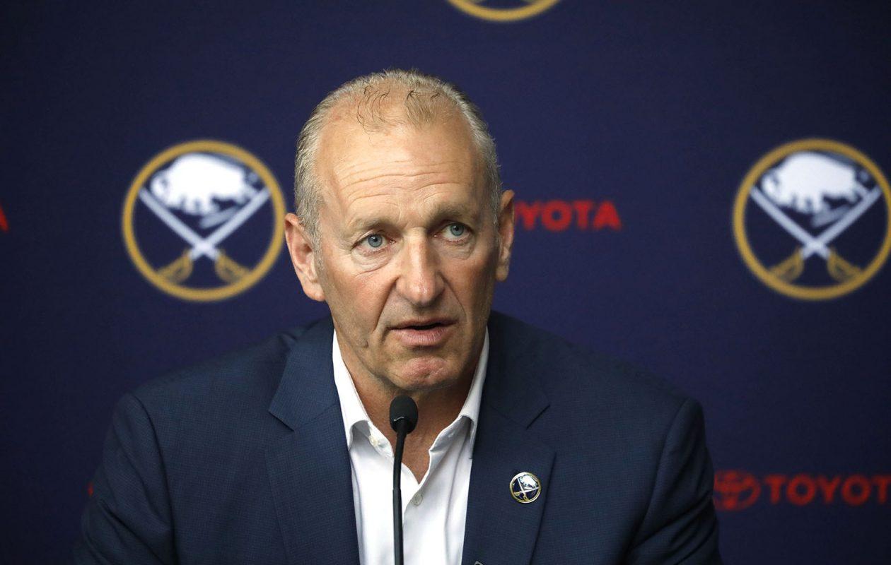 Ralph Krueger has completed his coaching staff. (Derek Gee/Buffalo News)
