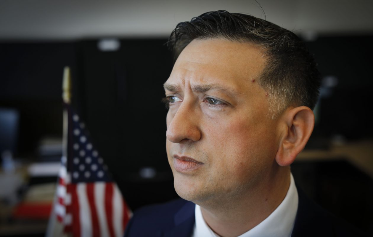 David Bellavia will be awarded the Medal of Honor for his courageous service in Iraq. (Derek Gee/Buffalo News)