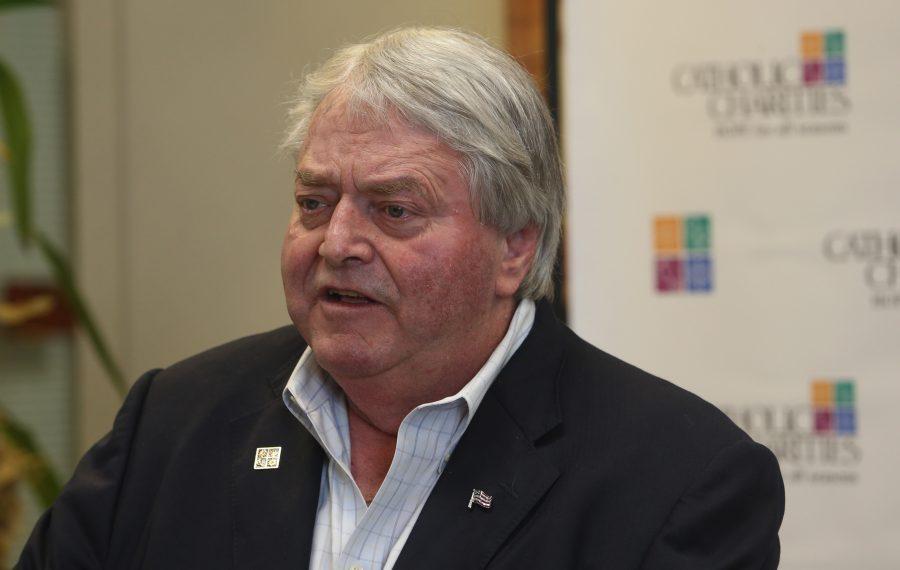 Charles Joyce donated $350,000 to Catholic Charities. (John Hickey/Buffalo News)
